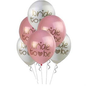 Bride To Be Temalı Balon - 10 Adet